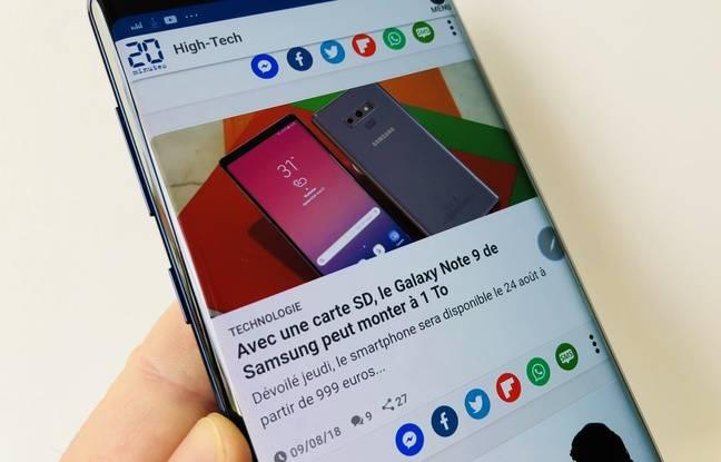 Samsung a dopé la capacité de mémoire de sa phablette.