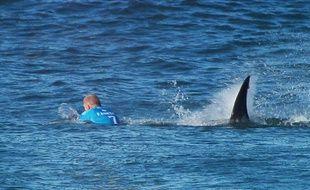 Mick Fanning attaqué par un requin / AP/SIPA