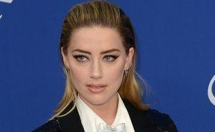 L'actrice et ex-femme de Johnny Depp, Amber Heard