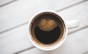 Illustration d'une tasse de café.