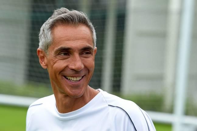 Paulo Sousa tout sourire à la reprise de l'entraînement aux Girondins