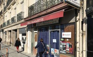 Le bar Chez Mamazette est située allée du Commandant-Charcot à Nantes.