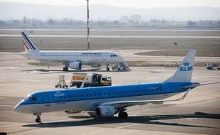 Marignane le 6 février 2012 - L'aéroport de Marseille Provence.