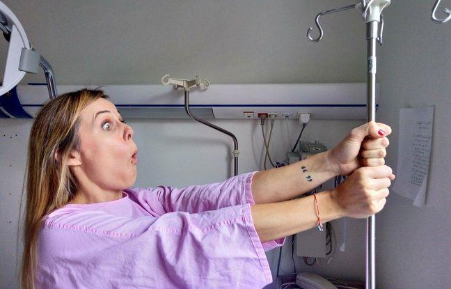 Toulouse: Elle veut vous faire mourir de rire avec son cancer