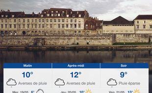 Météo Besançon: Prévisions du mardi 18 mai 2021