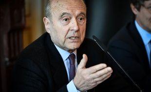 (Photo d'illustration) Alain Juppé à la mairie de Bordeaux.