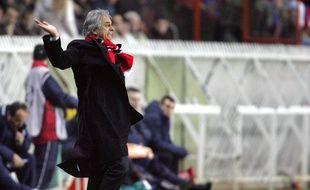 Vahid Halilhodzic le 7 décembre 2004 au PSG.