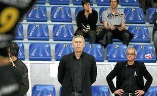 Boris Grebennikov et le coprésident Thibault Mativet (à d.) jouent gros ce soir.