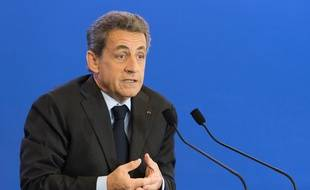 Nicolas Sarkozy, le 2 mai 2016 à Paris.