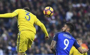 Olive s'est trouvé pas mal contre la Suède, comme d'habitude.