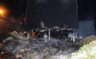 Le centre des impôts de Morlaix incendié le 20 septembre 2014