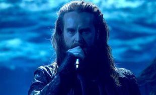 Rasmussen, candidat du Danemark à l'Eurovision 2018.