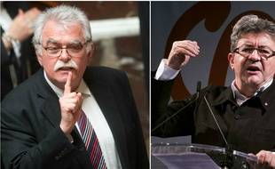 André Chassaigne (PCF) et Jean-Luc Mélenchon (LFI) ne seront pas ensemble à l'Assemblée.