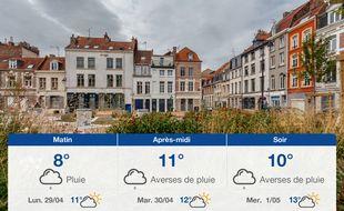 Météo Lille: Prévisions du dimanche 28 avril 2019