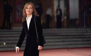 L'actrice Isabelle Huppert.