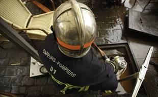 Un intervention des sapeurs-pompiers de la Haute-Garonne - archive