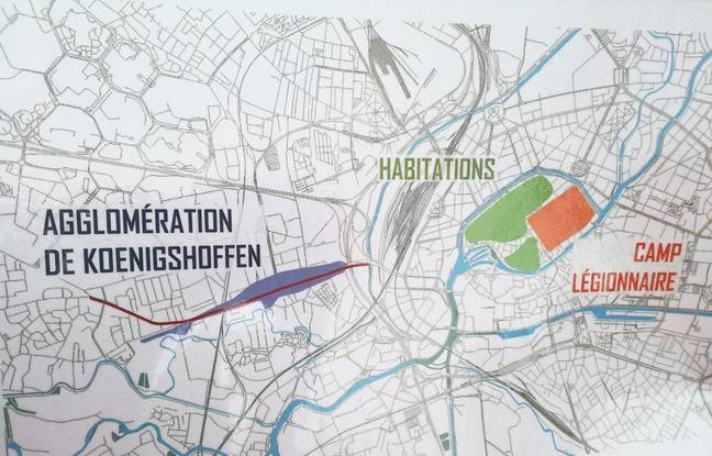 Strasbourg, époque antique, avec le camp romain d'Argentorate, aux origines de la ville.