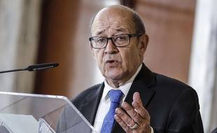 (Photo d'illustration) Jean-Yves Le Drian doit se rendre à Barcelone, vendredi.