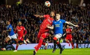 Au duel avec Ryan Kent, Jérôme Boateng a connu sa première titularisation depuis quatre mois, jeudi contre les Glasgow Rangers en Ligue Europa.