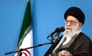 L'ayatollah Ali Khamenei, guide suprême iranien, à Téhéran le 9 septembre 2015.