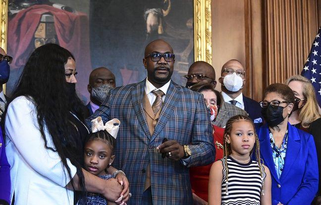 648x415 la famille de george floyd lors d une rencontre avec nancy pelosi au capitol