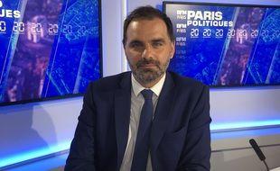 Laurent Saint-Martin, le candidat LREM à l'élection régionale en Ile-de-France.