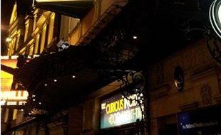 L'Apollo theatre, à Londres.