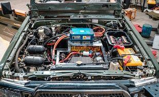 Les étudiants ont mis au point une technique qui permet de transformer pour moins de 10.000 euros votre voiture en véhicule électrique.