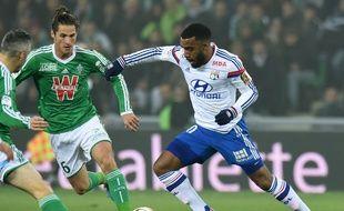 Jérémy Clément et les Stéphanois peuvent désormais se projeter sur le derby face à l'OL d'Alexandre Lacazette, dimanche prochain à Gerland.