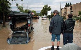 Les habitants de Draguignan sont encore sous le choc des inondations, le 16 juin 2010.