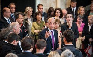 Alain Juppé, lors de la présentation de ses comités de soutien, le 20 juin 2013 à Bordeaux
