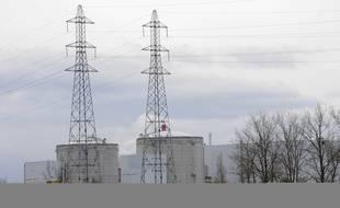 La centrale nucléaire de Fessenheim, le 20 novembre 2008.
