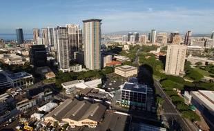 Honolulu, capitale de l'Etat de Hawaï, le 13 janvier 2018.