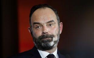 Edouard Philippe, le 31 janvier 2020 au Havre.