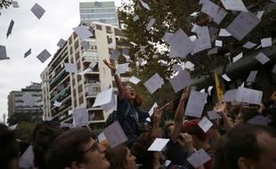 Des bulletins pour le référendum sur l'indépendance de la Catalogne