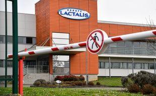 Le siège du groupe Lactalis à Laval, en janvier 2018.