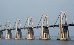 Le pont Morandi de Maracaibo, au Venezuela