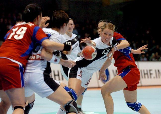 Allemagne-Corée du Sud, à Beaulieu, le 4 décembre 2007.
