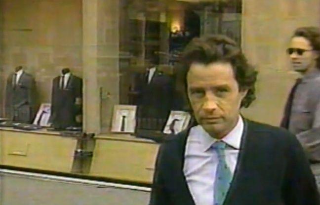 Jean-Luc Brunel en 1988 dans un reportage de «60 Minutes».