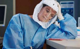 Meredith Grey dans la 17e saison de « Grey's Anatomy ».