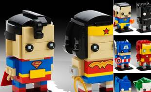 Lego lancera en 2017 BirckHeadz, une nouvelle gamme de jouets. Les quatre sets seront proposés en avant-première et en édition limitée aux visiteurs du Comic-Con de San Diego (Etats-Unis) du 21 au 24 juillet 2016.