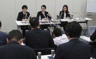 Le président de la fime japonaise Coincheck Koichiro Wada