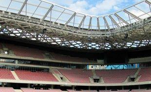 Le stade offre jusqu'à 45 000 places.