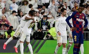 Vinicius a permis au Real de l'emporter face au Barça à la maison.