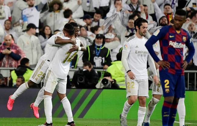 VIDEO. Le Real Madrid s'impose face au Barça et reprend la tête de la Liga