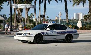 Illustration d'une voiture de police en Floride (Etats-Unis).