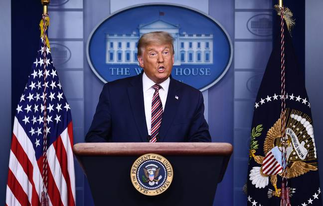 648x415 donald trump lors conference presse maison blanche 5 novembre 2020