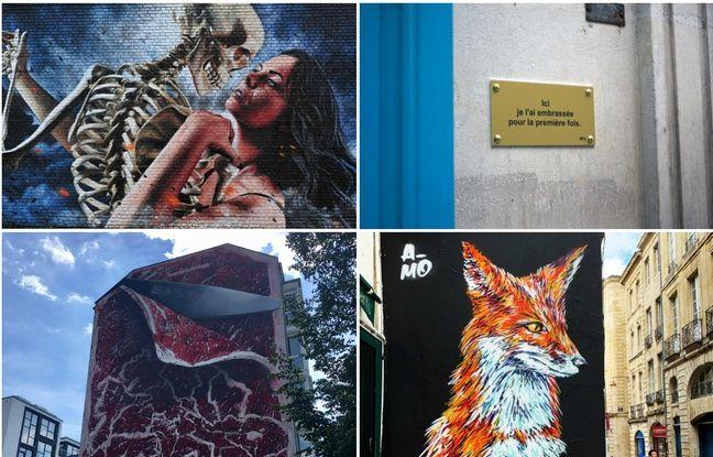 Graffitis, fresques, pochoirs... Vous nous avez envoyé vos plus belles photos de street art