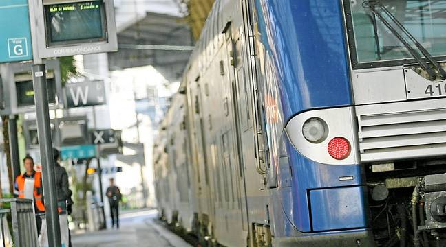 Un train en gare de Nice – Archives ANP / 20 Minutes