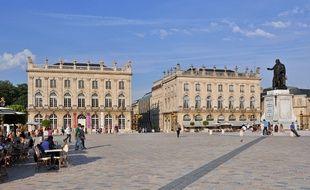 A Nancy, les prix des appartements sont plus élevés dans la vieille, au Sud et à l'Est de la place Stanislas, beaucoup moins du côté Ouest de la ville. Illustration